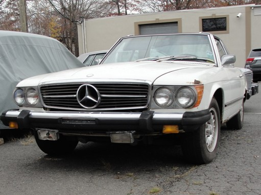 Cj auto parts cj classic cadillac parts kenilworth nj for 1975 mercedes benz 450sl convertible