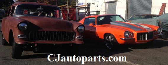 1973 Chevy Camaro & 1955 Chevy