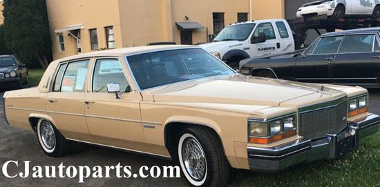 1982 Cadillac Sedan Deville d'Elegance