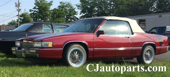 1989 Cadillac Deville Custom Convertible